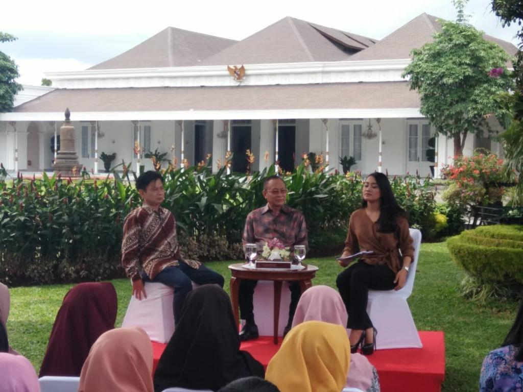 Sebarkan Informasi Istura Istana Kepresidenan Yogyakarta Gandeng