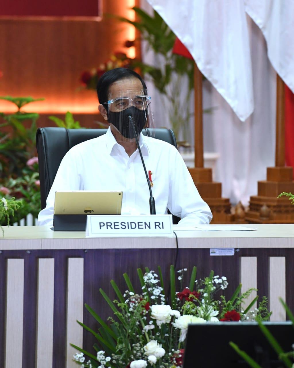 Presiden Minta Kasus Positif Covid 19 Di Aceh Tidak Dibiarkan Membesar Sekretariat Negara